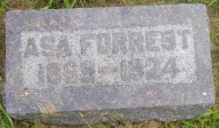 FORREST, ASA - Lincoln County, South Dakota | ASA FORREST - South Dakota Gravestone Photos