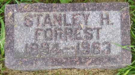 FORREST, STANLEY H - Lincoln County, South Dakota | STANLEY H FORREST - South Dakota Gravestone Photos