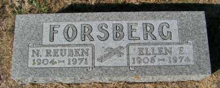 FORSBERG, N. REUBEN - Lincoln County, South Dakota   N. REUBEN FORSBERG - South Dakota Gravestone Photos
