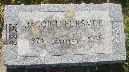 FORSMOE, JACOB H - Lincoln County, South Dakota | JACOB H FORSMOE - South Dakota Gravestone Photos