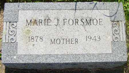 FORSMOE, MARIE J - Lincoln County, South Dakota | MARIE J FORSMOE - South Dakota Gravestone Photos