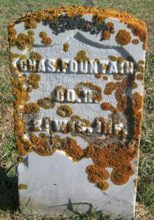 FOUNTAIN, CHAS. - Lincoln County, South Dakota   CHAS. FOUNTAIN - South Dakota Gravestone Photos