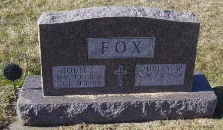 FOX, SHIRLEY W - Lincoln County, South Dakota | SHIRLEY W FOX - South Dakota Gravestone Photos