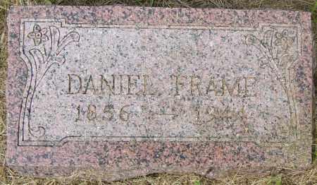FRAME, DANIEL - Lincoln County, South Dakota   DANIEL FRAME - South Dakota Gravestone Photos