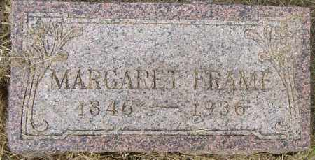 FRAME, MARGARET - Lincoln County, South Dakota | MARGARET FRAME - South Dakota Gravestone Photos
