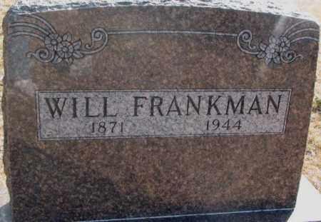 FRANKMAN, WILL - Lincoln County, South Dakota | WILL FRANKMAN - South Dakota Gravestone Photos
