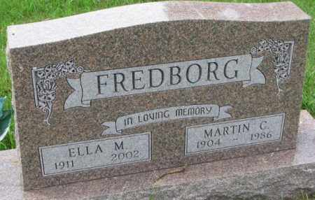 FREDBORG, MARTIN C. - Lincoln County, South Dakota | MARTIN C. FREDBORG - South Dakota Gravestone Photos