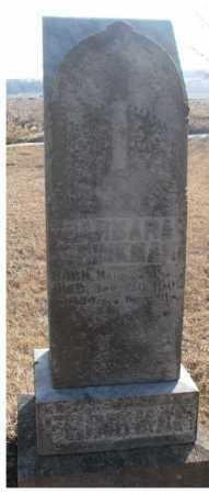 FRINKMAN, BARBARA - Lincoln County, South Dakota | BARBARA FRINKMAN - South Dakota Gravestone Photos