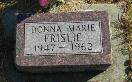FRISLIE, DONNA MARIE - Lincoln County, South Dakota | DONNA MARIE FRISLIE - South Dakota Gravestone Photos