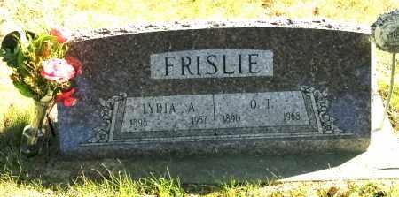 FRISLIE, LYDIA A. - Lincoln County, South Dakota   LYDIA A. FRISLIE - South Dakota Gravestone Photos