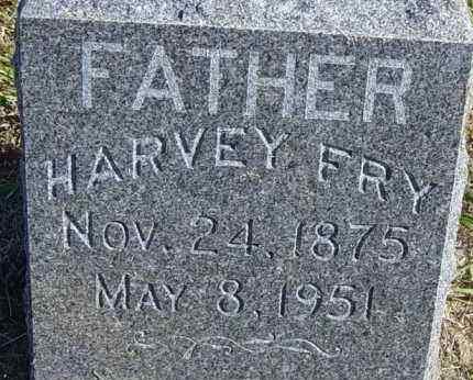 FRY, HARVEY - Lincoln County, South Dakota   HARVEY FRY - South Dakota Gravestone Photos