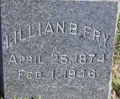 FRY, LILLIAN B - Lincoln County, South Dakota | LILLIAN B FRY - South Dakota Gravestone Photos