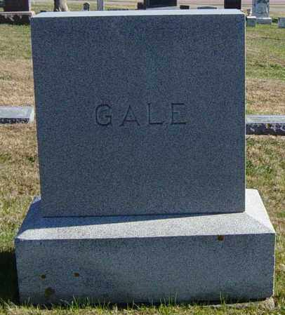 GALE FAMILY MEMORIAL, JOHN HUBERT - Lincoln County, South Dakota | JOHN HUBERT GALE FAMILY MEMORIAL - South Dakota Gravestone Photos
