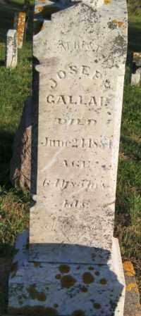GALLAP, JOSEPH - Lincoln County, South Dakota | JOSEPH GALLAP - South Dakota Gravestone Photos