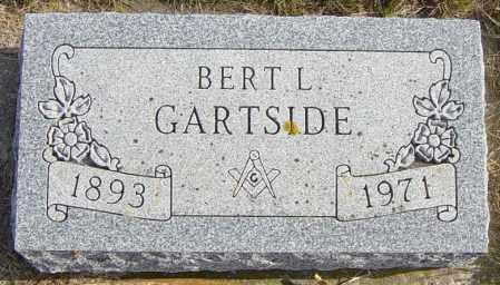 GARTSIDE, BERT L - Lincoln County, South Dakota | BERT L GARTSIDE - South Dakota Gravestone Photos