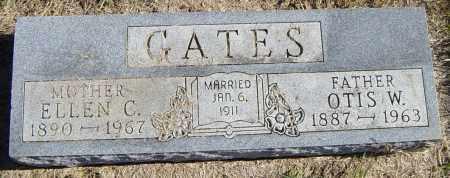 GATES, OTIS W - Lincoln County, South Dakota   OTIS W GATES - South Dakota Gravestone Photos