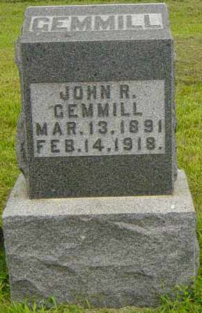 GEMMILL, JOHN R - Lincoln County, South Dakota | JOHN R GEMMILL - South Dakota Gravestone Photos