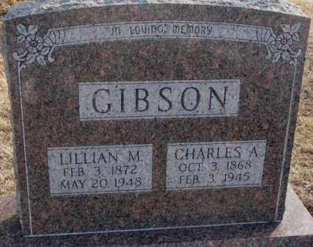 GIBSON, CHARLES A. - Lincoln County, South Dakota | CHARLES A. GIBSON - South Dakota Gravestone Photos