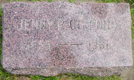 GIFFORD, JENNY R - Lincoln County, South Dakota | JENNY R GIFFORD - South Dakota Gravestone Photos