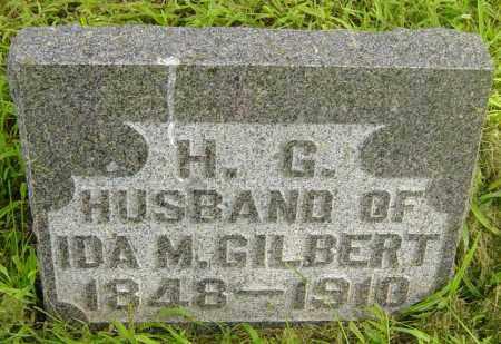 GILBERT, H G - Lincoln County, South Dakota | H G GILBERT - South Dakota Gravestone Photos