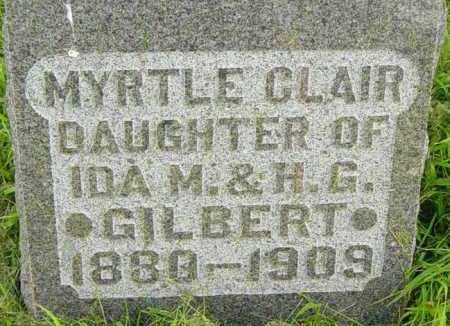 GILBERT, MYRTLE CLAIR - Lincoln County, South Dakota | MYRTLE CLAIR GILBERT - South Dakota Gravestone Photos