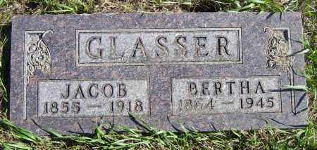 GLASSER, BERTHA - Lincoln County, South Dakota | BERTHA GLASSER - South Dakota Gravestone Photos