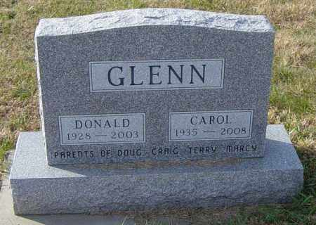 GLENN, CAROL - Lincoln County, South Dakota | CAROL GLENN - South Dakota Gravestone Photos