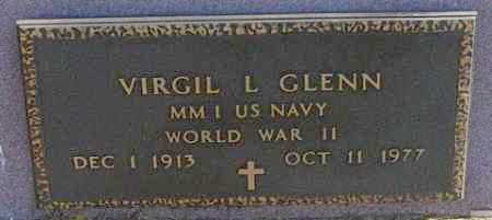 GLENN MILITARY, VIRGIL L - Lincoln County, South Dakota | VIRGIL L GLENN MILITARY - South Dakota Gravestone Photos