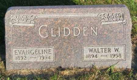 GLIDDEN, WALTER W. - Lincoln County, South Dakota | WALTER W. GLIDDEN - South Dakota Gravestone Photos