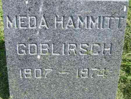 HAMMITT GOBLIRSCH, MEDA - Lincoln County, South Dakota | MEDA HAMMITT GOBLIRSCH - South Dakota Gravestone Photos