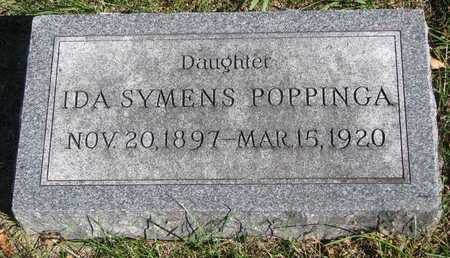 SYMENS POPPINGA, IDA - Lincoln County, South Dakota | IDA SYMENS POPPINGA - South Dakota Gravestone Photos