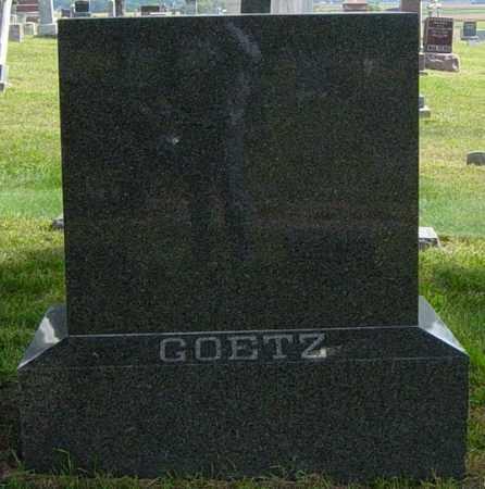 GOETZ FAMILY MEMORIAL, CHARLES E - Lincoln County, South Dakota | CHARLES E GOETZ FAMILY MEMORIAL - South Dakota Gravestone Photos