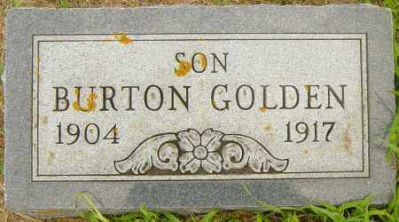 GOLDEN, BURTON - Lincoln County, South Dakota | BURTON GOLDEN - South Dakota Gravestone Photos