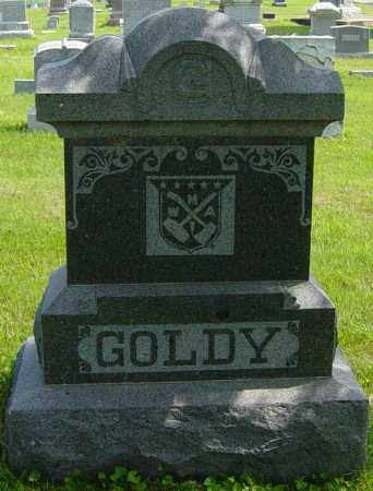 GOLDY FAMILY MEMORIAL, EUGENE - Lincoln County, South Dakota | EUGENE GOLDY FAMILY MEMORIAL - South Dakota Gravestone Photos