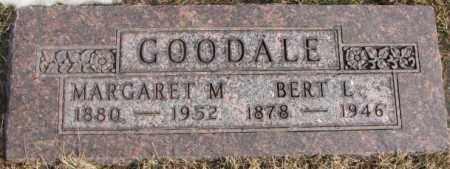 GOODALE, MARGARET M. - Lincoln County, South Dakota | MARGARET M. GOODALE - South Dakota Gravestone Photos