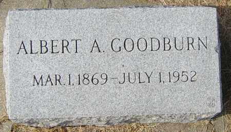 GOODBURN, ALBERT A - Lincoln County, South Dakota | ALBERT A GOODBURN - South Dakota Gravestone Photos