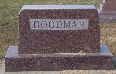 GOODMAN FAMILY MEMORIAL, DR. GEORGE O - Lincoln County, South Dakota | DR. GEORGE O GOODMAN FAMILY MEMORIAL - South Dakota Gravestone Photos