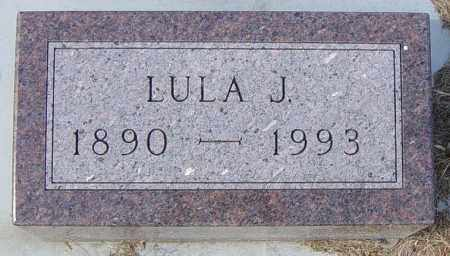 GOODMAN, LULA J - Lincoln County, South Dakota | LULA J GOODMAN - South Dakota Gravestone Photos