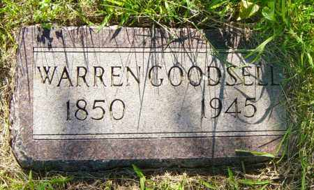 GOODSELL, WARREN - Lincoln County, South Dakota | WARREN GOODSELL - South Dakota Gravestone Photos
