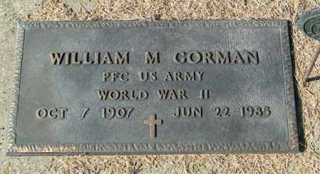 GORMAN, WILLIAM MAURICE - Lincoln County, South Dakota | WILLIAM MAURICE GORMAN - South Dakota Gravestone Photos