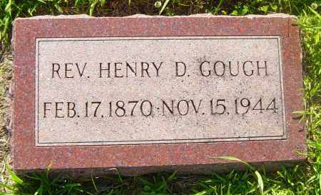 GOUGH, REV HENRY D - Lincoln County, South Dakota | REV HENRY D GOUGH - South Dakota Gravestone Photos
