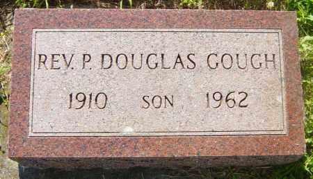 GOUGH, REV P DOUGLAS - Lincoln County, South Dakota   REV P DOUGLAS GOUGH - South Dakota Gravestone Photos