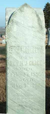 CUPPETT GRACE, EMMA M - Lincoln County, South Dakota   EMMA M CUPPETT GRACE - South Dakota Gravestone Photos