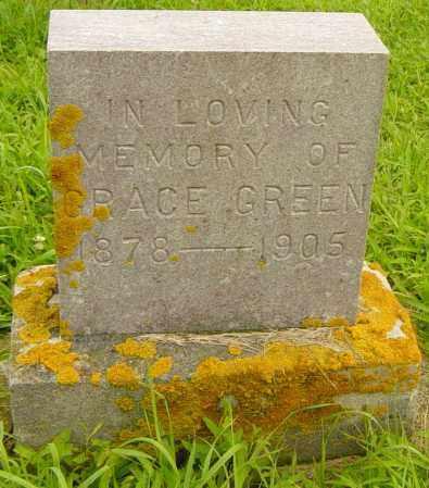 GREEN, GRACE - Lincoln County, South Dakota | GRACE GREEN - South Dakota Gravestone Photos
