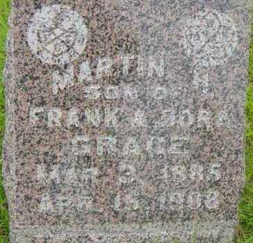 GRACE, MARTIN H - Lincoln County, South Dakota | MARTIN H GRACE - South Dakota Gravestone Photos