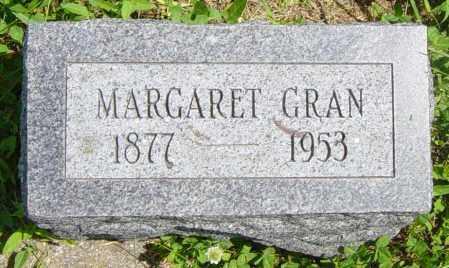GRAN, MARGARET - Lincoln County, South Dakota | MARGARET GRAN - South Dakota Gravestone Photos
