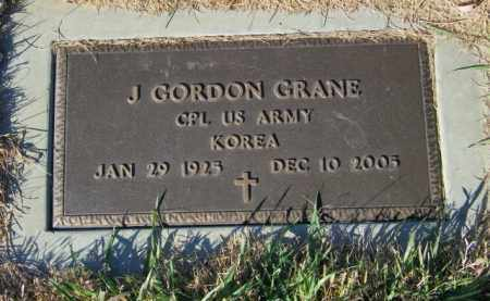 GRANE, J. GORDON - Lincoln County, South Dakota | J. GORDON GRANE - South Dakota Gravestone Photos