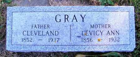 GRAY, CLEVELAND - Lincoln County, South Dakota | CLEVELAND GRAY - South Dakota Gravestone Photos