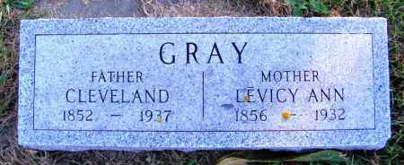GRAY, LEVICY ANN - Lincoln County, South Dakota | LEVICY ANN GRAY - South Dakota Gravestone Photos