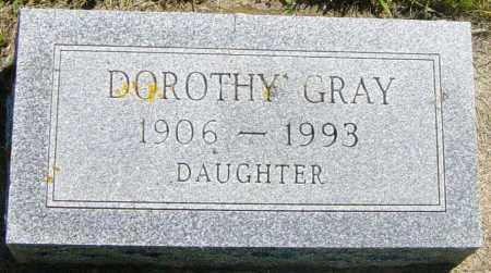 GRAY, DOROTHY - Lincoln County, South Dakota | DOROTHY GRAY - South Dakota Gravestone Photos